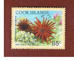 ISOLE COOK (COOK ISLANDS) - SG 1269 - 1992 MARINE LIFE: RED PENCIL SEA ORCHIN - USED° - Cook