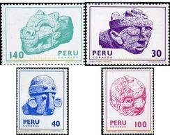 Ref. 351300 * MNH * - PERU. 1981. ARCHAEOLOGY . ARQUEOLOGIA - Peru