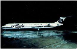 ALASKA AIRLINES - McDonnell Douglas MD-80  (Airline Issue) - 1946-....: Moderne