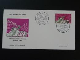 FDC Philatec 1964 Cote Des Somalis - Französich-Somaliküste (1894-1967)