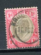 TRANSVAAL (GB) - SOUVERAINS - N° Yvert 149 Obli - Great Britain (former Colonies & Protectorates)