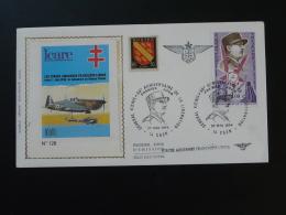 FDC General Koenig Repiquage Forces Aeriennes Françaises Libres Caen 1974 - Guerre Mondiale (Seconde)
