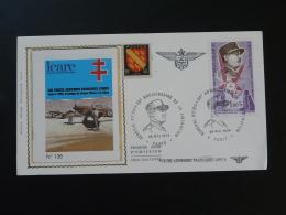 FDC General Koenig Repiquage Forces Aeriennes Françaises Libres Paris 1974 - Avions