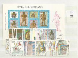 1987 MNH Vaticano, Vatikanstaat, Year Collection, Postfris** - Annate Complete