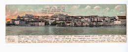 CROATIA Sibenik 1905 OLD DOUBLE POSTCARD 2 Scans - Croatia