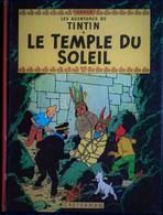 Hergé - Tintin - Le Temple Du Soleil - Casterman - ( 1975 ) . - Tintin