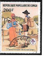TIMBRE OBLITERE DU CONGO BRAZZA DE 1982 N° MICHEL 861 - Congo - Brazzaville