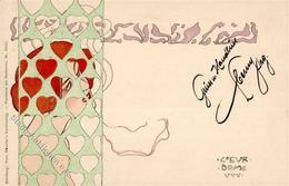 Kirchner, Raphael Coeur Dame Künstler-Karte I-II - Kirchner, Raphael