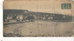 Treboul, Panorama De La Plage Des Sables Blancs, Environs De Douarnenez (Carte Format 14 X 28 Vendue Dans L'état) - Tréboul