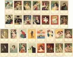 Collection JOB 30'er Serie Künstler-Karten, Inkl. Mucha, Usw. I-II R!R! - Künstlerkarten