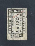 PORTUGAL ANCIEN TICKET BUS H : S T C P : - Bus