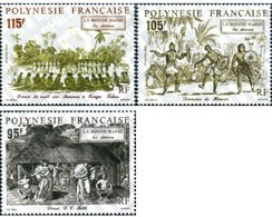 Ref. 346360 * MNH * - FRENCH POLYNESIA. 1992. EL MUNDO MAHOI - Dance