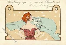Hager, Nini Frau Taube Künstler-Karte 1902 I-II - Künstlerkarten