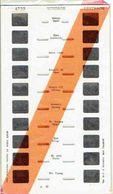 STEREOCARTE LESTRADE. 10 Vues Kodachrome - WINDSOR.   1950/58. - Diapositives