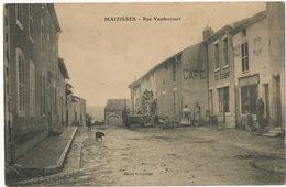 Maizieres Rue Vaudrecourt  Cliché Bricquelet Envoi Au Verseau Par Adon Loiret - Other Municipalities