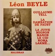LEON BEYLE. Ténor. 23 Titres. 1 Cd . Malibran. - Opera
