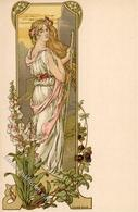 Sonrel, Elisabet Frau Jugendstil I-II Art Nouveau - Ohne Zuordnung