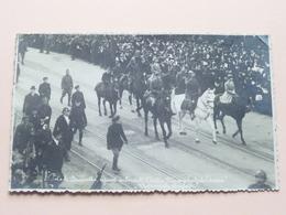 L'Entrée Triomphale De L'armée BRUXELLES La Famille Royale ( Voir Photo ) Polak / Anno 19?? ( Zie Foto's ) ! - Guerre, Militaire