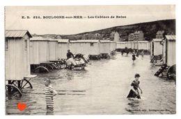 23103-LE-62-BOULOGNE-sur-MER-Les Cabines De Bains---------animée-chevaux - Boulogne Sur Mer
