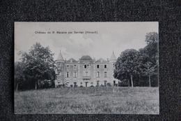 Château De ST MACAIRE Par SERVIAN - Frankreich
