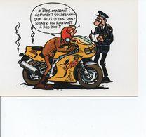 Illustrateur F. Margerin - Theme Moto - Le Tombeur De Chrono A VOIR - Autres Illustrateurs