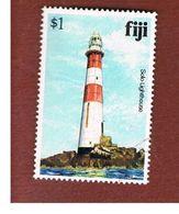 ISOLE FIGI (FIJI ISLANDS) - SG 594A - 1980 SOLO ROCK LIGHTHOUSE   - USED° - Fiji (1970-...)