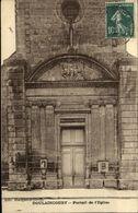 51  DOULAINCOURT  Portail De L' église - Sonstige Gemeinden
