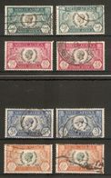 SOUTH AFRICA 1935 SILVER JUBILEE SET FINE USED Cat £5 - South Africa (...-1961)