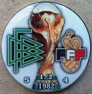 Pin FIFA World Cup 1982 1/2 Final Germany Vs France - Calcio
