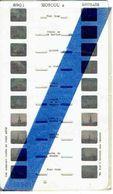 STEREOCARTE LESTRADE. 10 Vues Kodachrome - MOSCOU. 2.   1950/58. - Diapositives