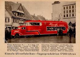 Uhr Hamburg (2000) Kienzle Werbewagen I-II - Ansichtskarten