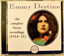 EMMY DESTINN. 2 Cds. The Complete Victor Recordings (1914-1921) 37 Titres. - Opera