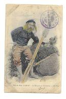 Le Marquis De Tombelaine . Circulée . Usée . - Le Mont Saint Michel