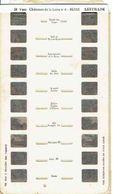 STEREOCARTE LESTRADE. 10 Vues Kodachrome - CHATEAUX DE LA LOIRE - BLOIS.6.   1950/58. - Diapositives