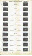 STEREOCARTE LESTRADE. 10 Vues Kodachrome - CHATEAUX DE LA LOIRE ILLUMINE.3.   1950/58. - Diapositives