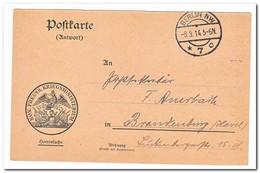 Berlin NW, Postkarte Kon. Preuss. Kriegsministerium - Germany