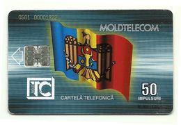 Moldavia - Tessera Telefonica Da 50 Units T547 - Moldtelecom, - Moldavia