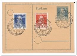Leipzig 1947, 450 Jahre Messe-Privileg Für Leipzig - Amerikaanse, Britse-en Russische Zone