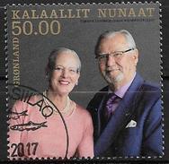 Groënland 2017, N°727 Oblitéré Noces D'or Mariage Royal - Gebraucht
