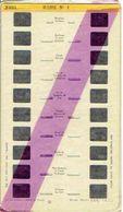 STEREOCARTE LESTRADE. 10 Vues Kodachrome - ROME.1.  1950/58. - Diapositives