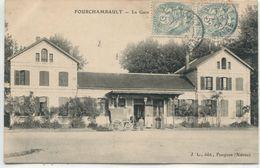 - 58 -NIEVRE-FOURCHAMBAULT- La Gare - Gares - Sans Trains