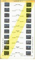STEREOCARTE LESTRADE. 10 Vues Kodachrome - LONDON.1.  1950/58. - Diapositives