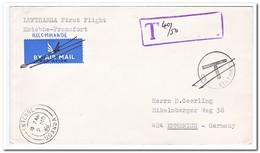 Oeganda 1966, Lufthansa First Flight Entebbe-Frankfurt - Oeganda (1962-...)