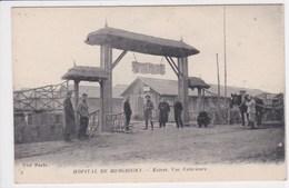 10 MESCRIGNY Hôpital Entrée Vue Extérieure ,atelage Cheval - Other Municipalities
