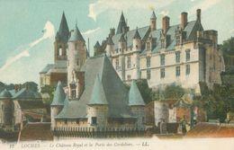 Loches; Le Château Royal Et La Porte Des Cordeliers - Non Voyagé. (LL.) - Loches