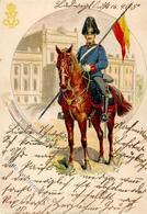 Regiment Ludwigslust (O2800) Nr. 17 Dragoner Regt. 1905 I-II - Regimente