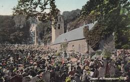 Postcard Sunday At Kirkbraddan IOM [ The Old Church Kirk Braddan Douglas Isle Of Man ] My Ref  B12393 - Isle Of Man