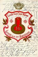 Regiment Nr. 14 Ulanen Regt. Garnison I-II (Marke Entfernt) - Regimente