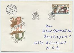 CZECHOSLOVAKIA 1992 Europa: Discovery Of America On FDC.  Michel 3114 - FDC