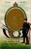 Regiment St. Arnold (4445) Nr. 173 Infanterie Regt.  Prägedruck I-II - Regimente